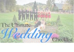 Ultimate Wedding Checklist: https://patspeak.wordpress.com/2014/07/09/the-ultimate-wedding-checklist/