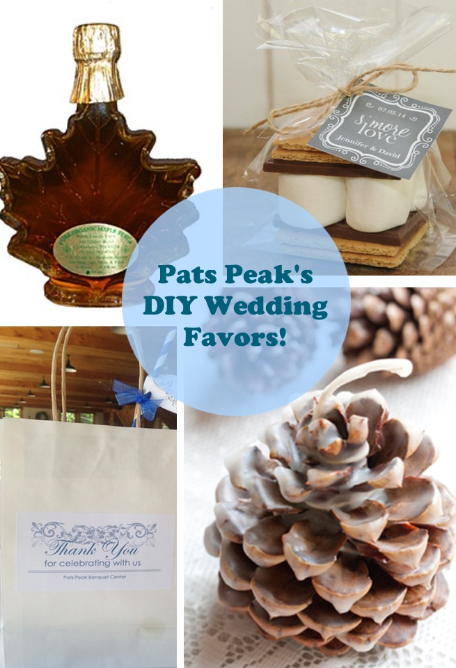 DIY Wedding Favors to REALLY Thank your Guests! | Pats Peak Wedding ...