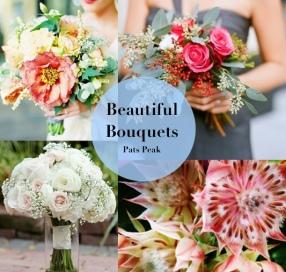 Bouquet Ideas: https://patspeak.wordpress.com/2014/10/15/bouquet-ideas/
