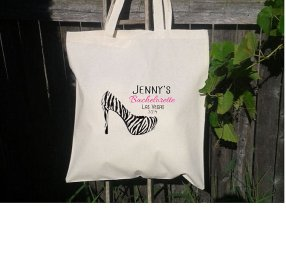 Wedding welcome and gift totes. A variety of totes, bags, book bags, grocery totes, and canvas available.