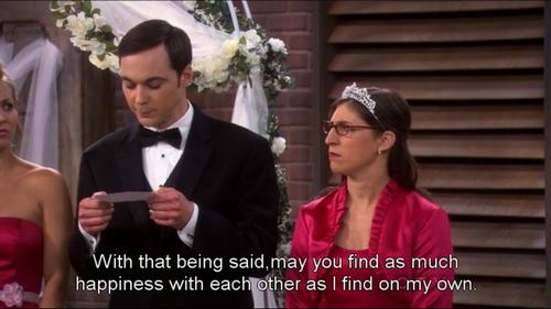 Big Bang Theory Speech