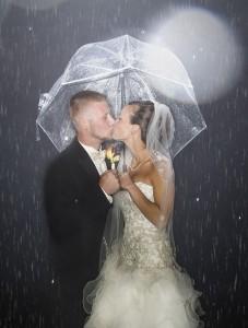 Kiss Under Umbrella