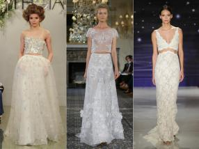 PHOTO BY MARIA VALENTINO / MCV PHOTO; FROM LEFT: THEIA; MIRA ZWILLINGER; REEM ACRA